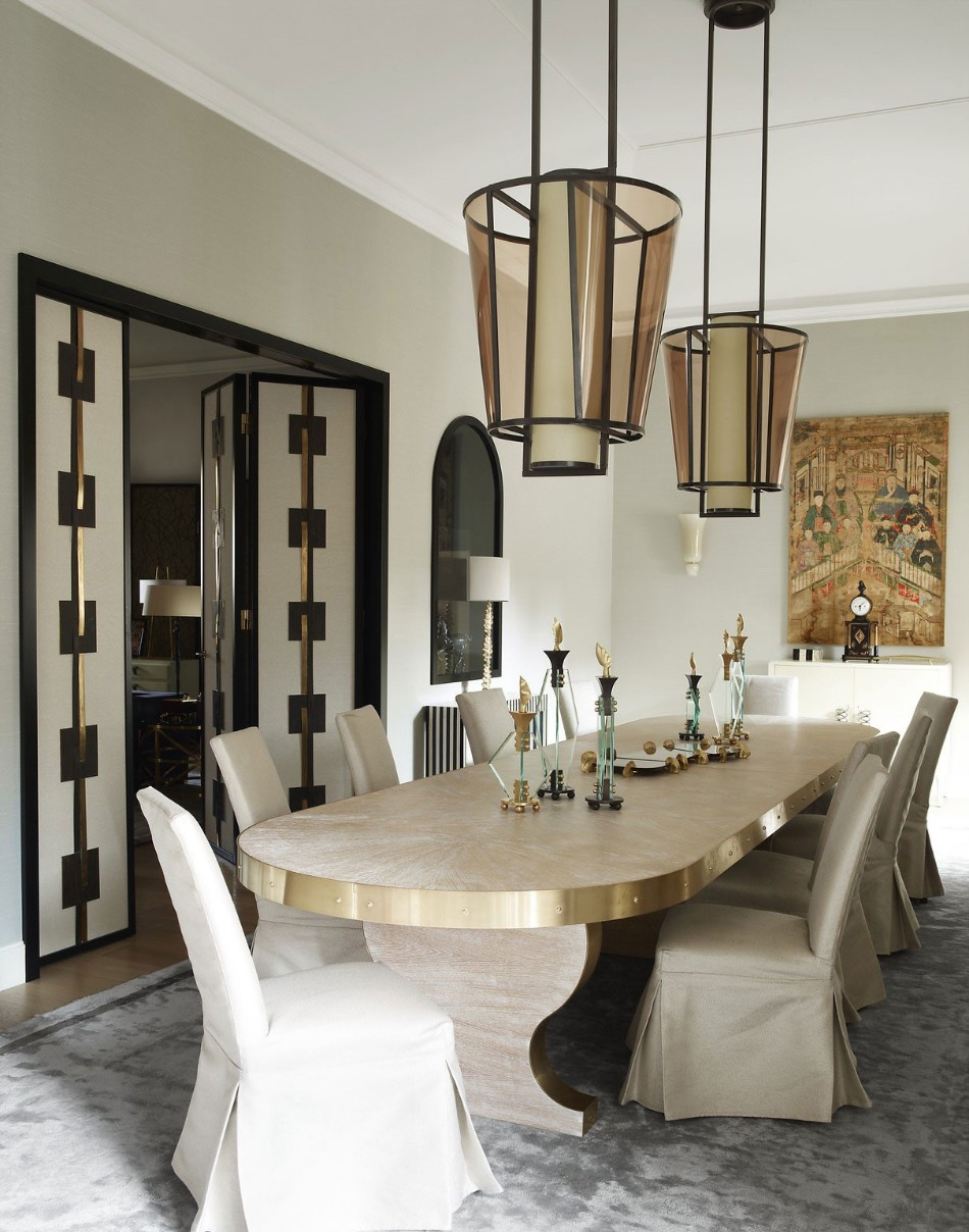 Top 100 Interior Designers Brilliant Dining Rooms By