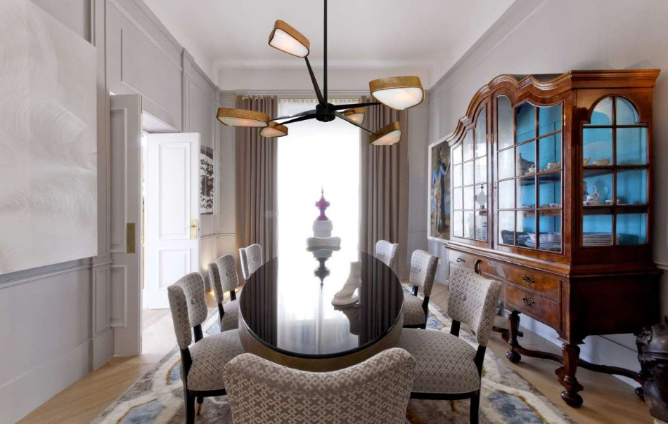achille salvagni Top 100 Interior Designers: Brilliant Dining Rooms by Achille Salvagni AS VA 21