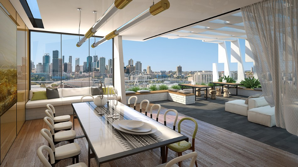 rooftop dining room