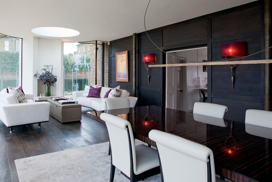 taylor howes Top 100 Interior Designers: Brilliant Dining Rooms by Taylor Howes Richmond house