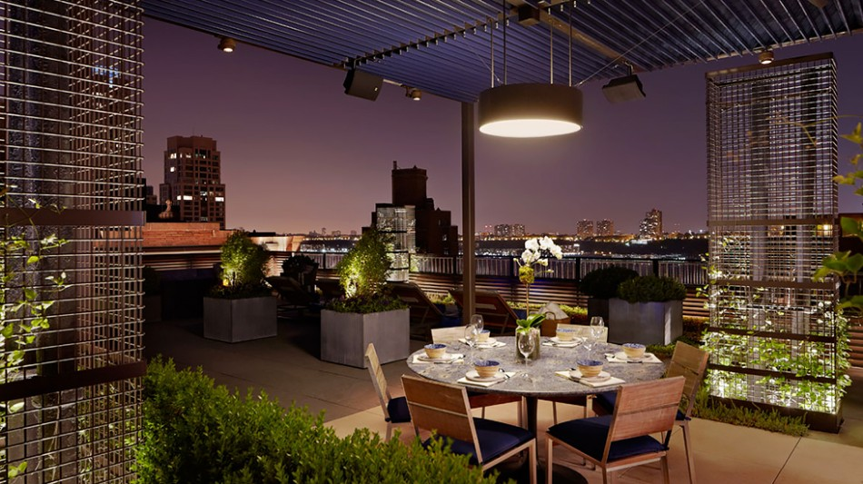rooftop dining room Rooftop Dining Room Ideas For This Summer Rooftop 1