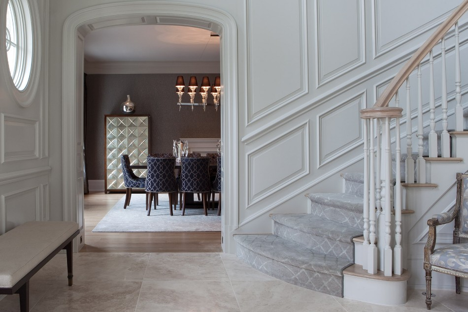 taylor howes Top 100 Interior Designers: Brilliant Dining Rooms by Taylor Howes Taylor Howes Connecticut Lobby 5904
