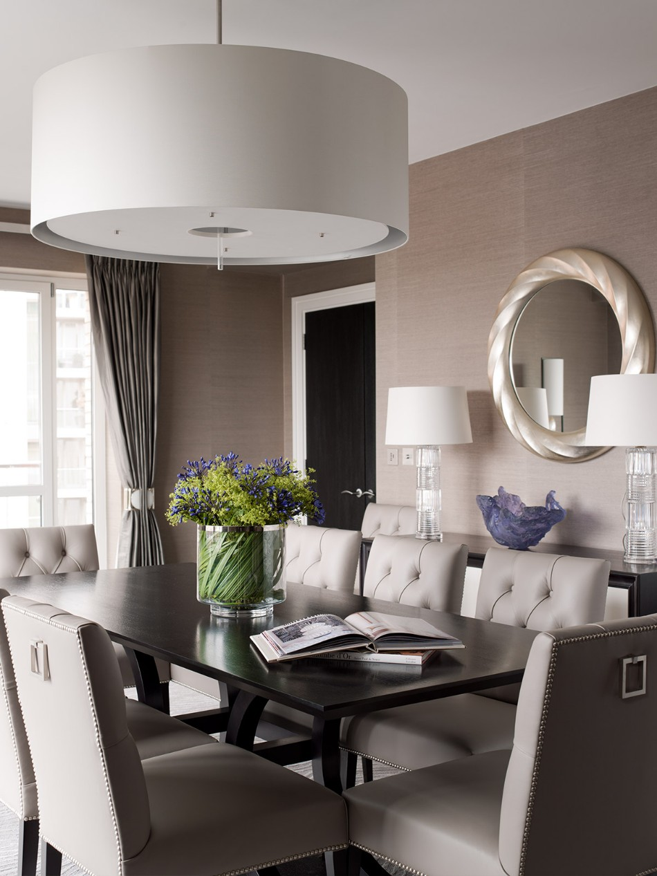 taylor howes Top 100 Interior Designers: Brilliant Dining Rooms by Taylor Howes Taylor Howes KnightsbridgeI Dinning Portrait
