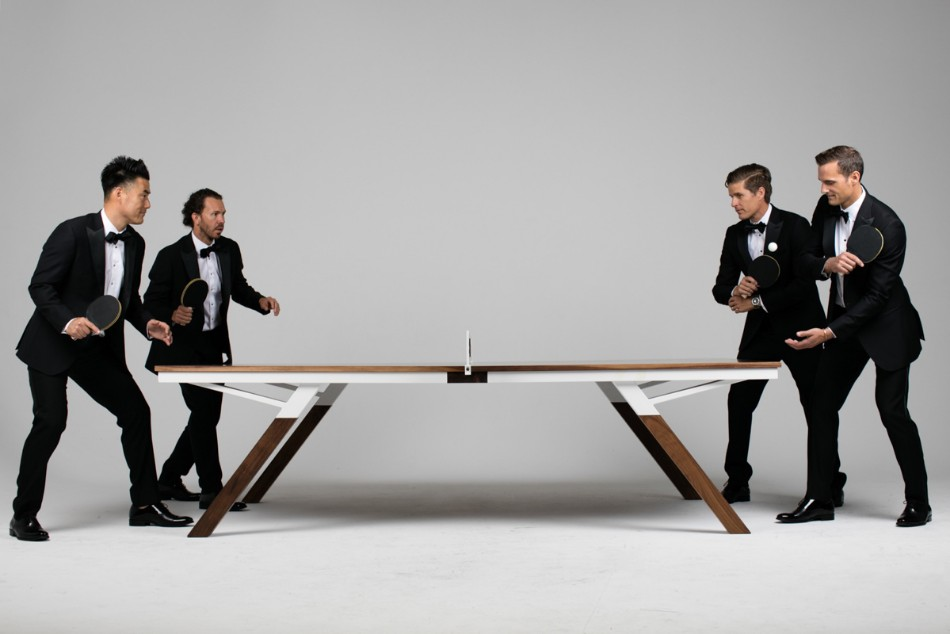 You Can Play Ping Pong In This Modern Dining Table | www.bocadolobo.com #diningtable #pingpong #creativedesign #diningroom @moderndiningtables Modern Dining Table You Can Play Ping Pong In This Modern Dining Table You Can Play Ping Pong In This Modern Dining Table 2