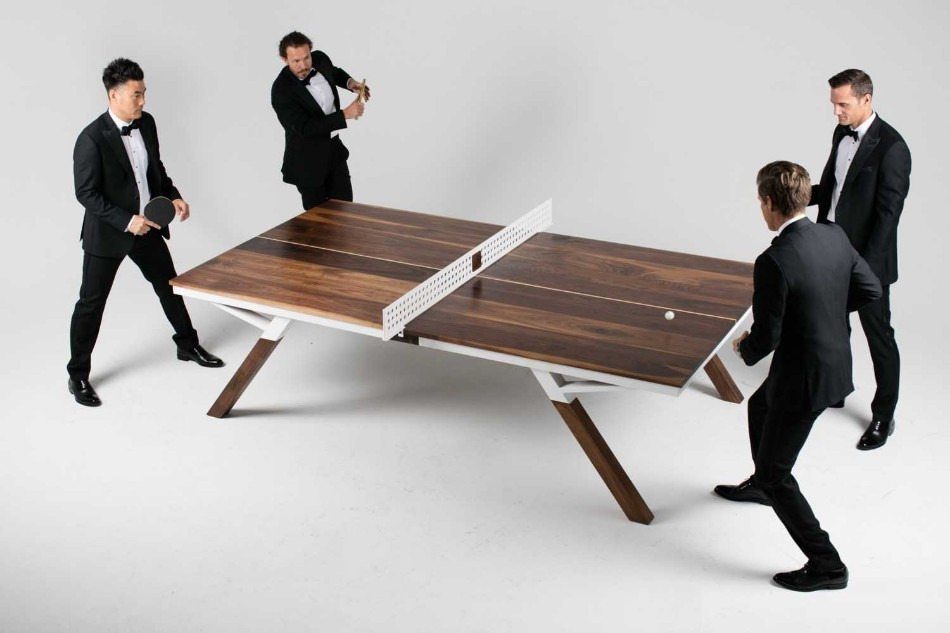 You Can Play Ping Pong In This Modern Dining Table | www.bocadolobo.com #diningtable #pingpong #creativedesign #diningroom @moderndiningtables Modern Dining Table You Can Play Ping Pong In This Modern Dining Table You Can Play Ping Pong In This Modern Dining Table 5