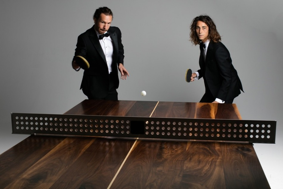You Can Play Ping Pong In This Dining Table | www.bocadolobo.com #diningtable #pingpong #creativedesign #diningroom @moderndiningtables Modern Dining Table You Can Play Ping Pong In This Modern Dining Table You Can Play Ping Pong In This Modern Dining Table 7