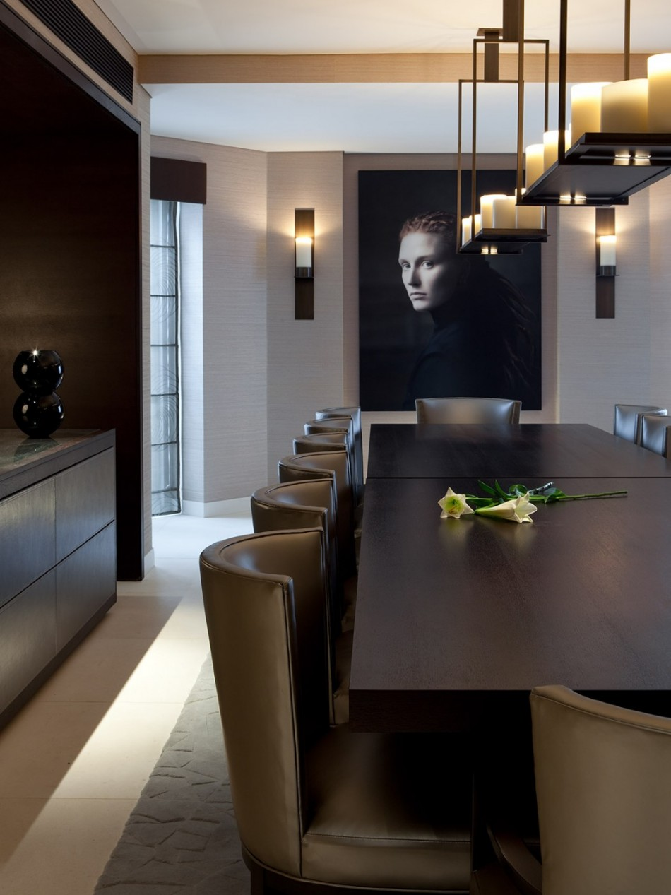 taylor howes Top 100 Interior Designers: Brilliant Dining Rooms by Taylor Howes academy gardens