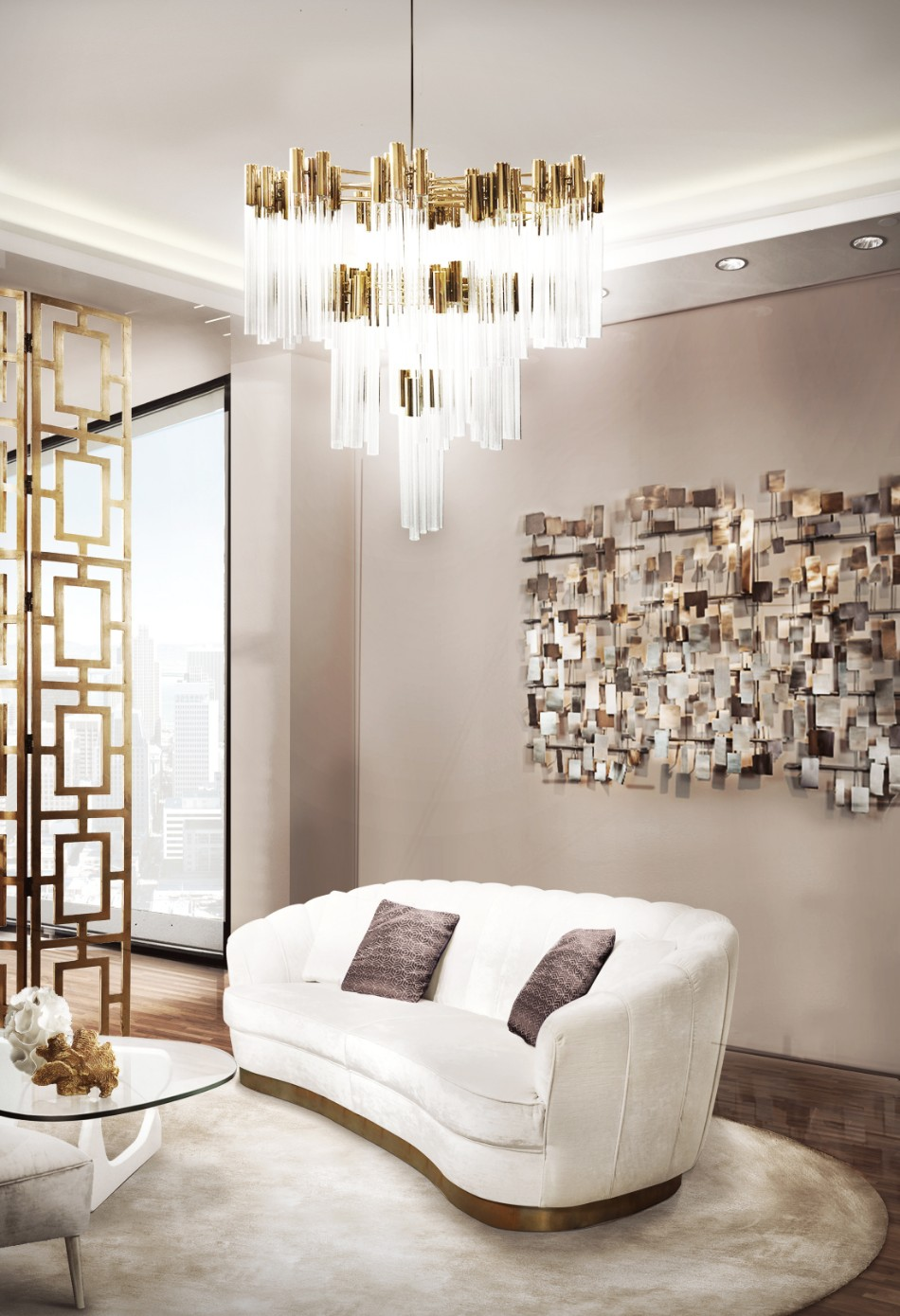 Amazing Chandelier Give Light To Your Dining Room With These Amazing Chandeliers burj suspension cover 01