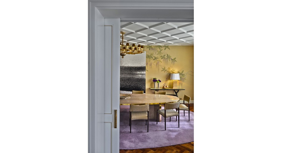 oitoemponto Top 100 Interior Designers: Brilliant Dining Rooms by OITOEMPONTO jantar14
