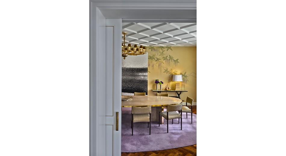 oitoemponto Top 100 Interior Designers: Brilliant Dining Rooms by OITOEMPONTO jantar14