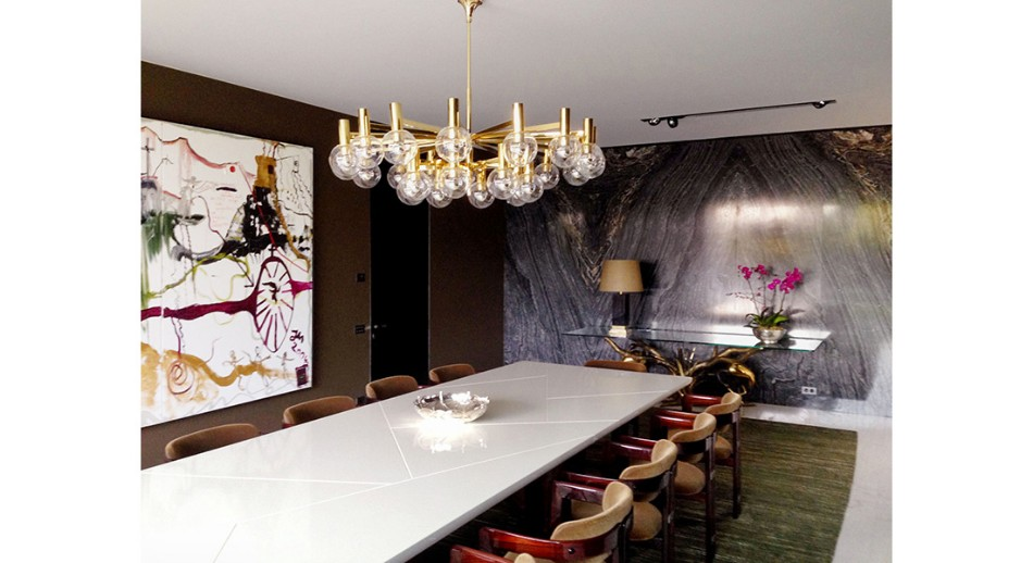 oitoemponto oitoemponto Top 100 Interior Designers: Brilliant Dining Rooms by OITOEMPONTO jantar19
