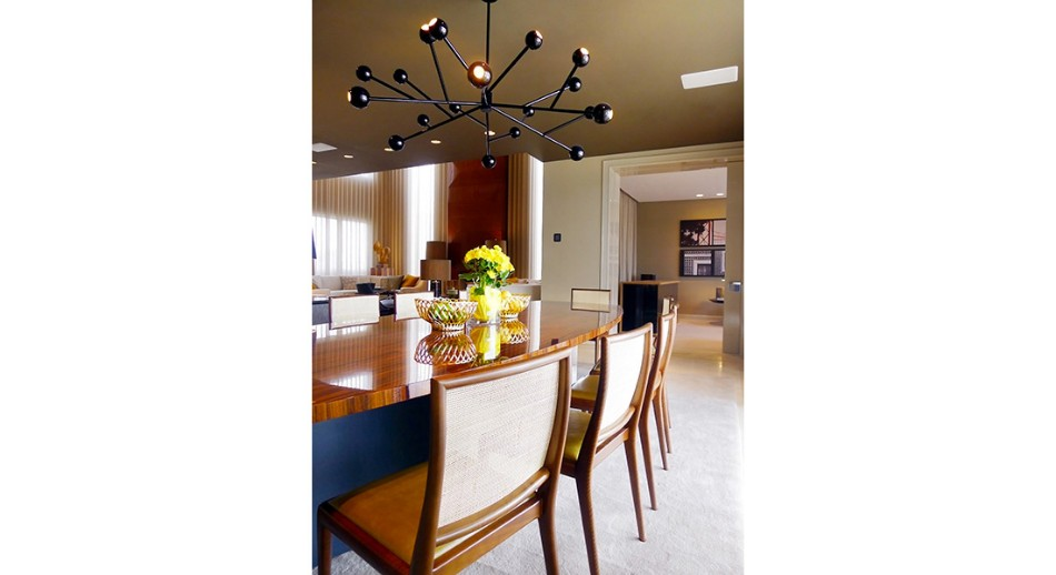 oitoemponto Top 100 Interior Designers: Brilliant Dining Rooms by OITOEMPONTO jantar7