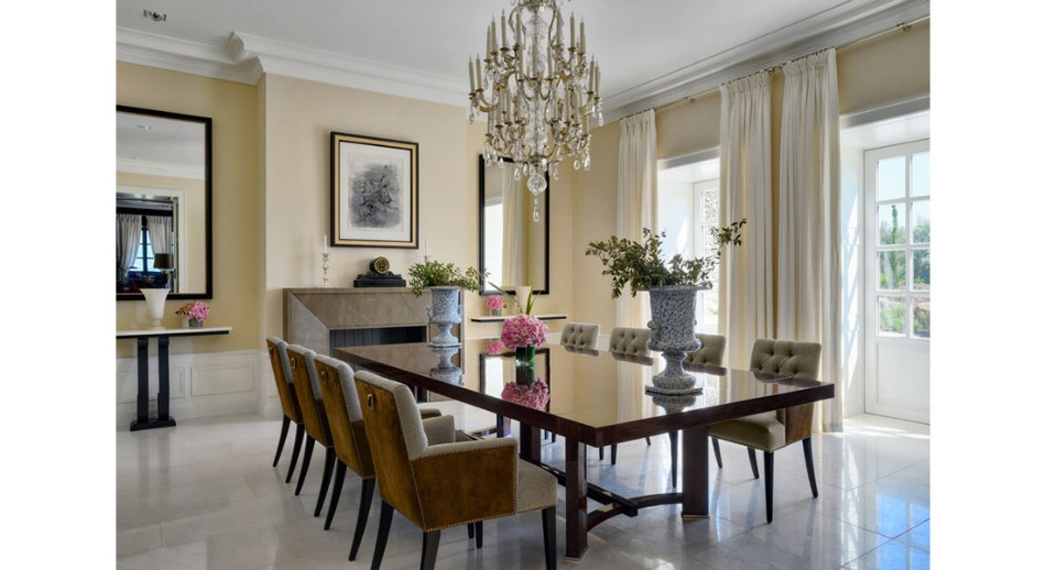 oitoemponto oitoemponto Top 100 Interior Designers: Brilliant Dining Rooms by OITOEMPONTO jantar9