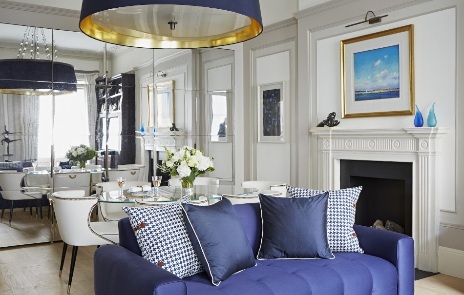 taylor howes Top 100 Interior Designers: Brilliant Dining Rooms by Taylor Howes lowndes street