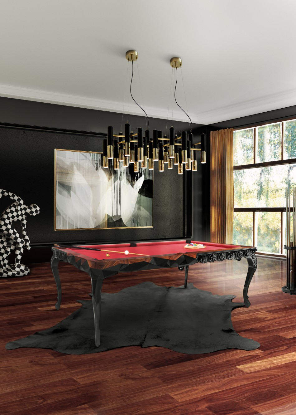 Multipurpose Dining Room Rethink Your Space: Multipurpose Dining Room Ideas royal snooker cover