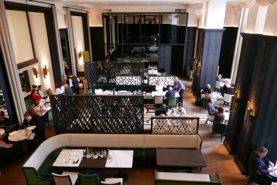 A Parisian Restaurant Designed By Interior Designers Gilles & Boisser | www.bocadolobo.com #interiordesign #luxury #moderndiningtable #restaurants #paris #topinteriordesigners @moderndiningtables