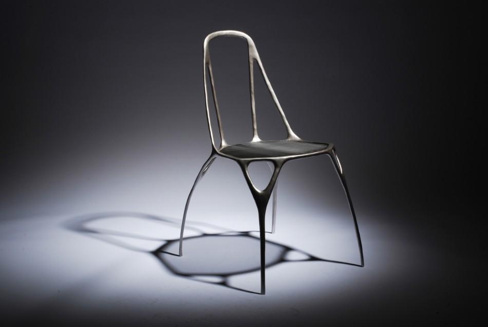 Benjamin Nordsmark Created Art From Dining Chairs | www.bocadolobo.com #diningchairs #artisticchairs #artfurniture #thediningroom #diningarea #diningdesign #moderndiningtable @moderndiningtable