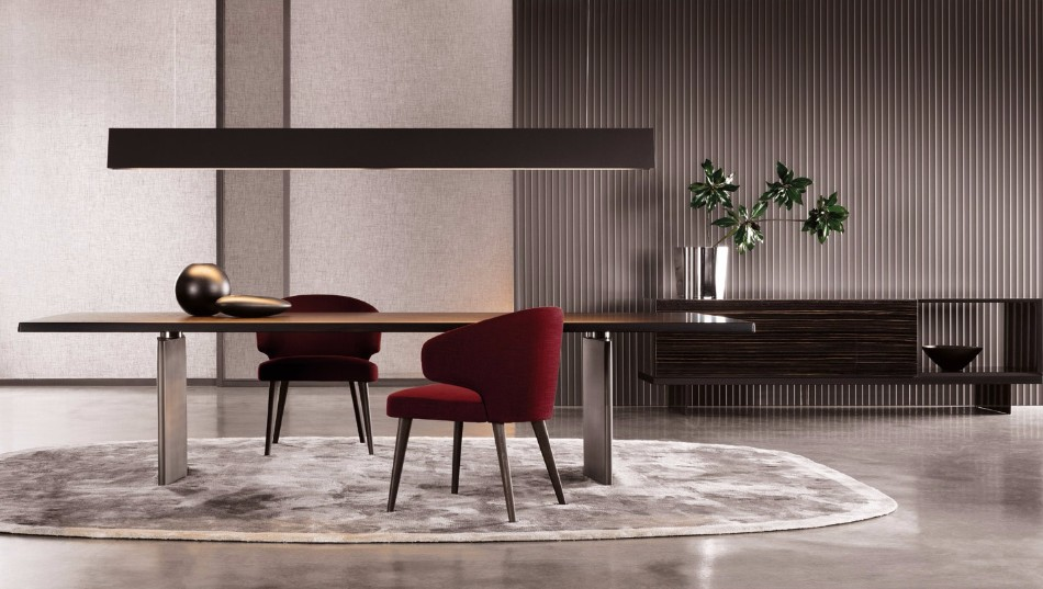 Get Inspired With These Luxury Dining Tables | www.bocadolobo.com #diningtable #moderndiningtable #diningroom #luxurybrands #luxury #thediningroom #roomdesign #minotti #busnelli #brabbu #fendi #fendicasa @moderndiningtables Luxury Dining Tables Get Inspired With These Luxury Dining Tables Get Inspired With These Luxury Dining Tables 2