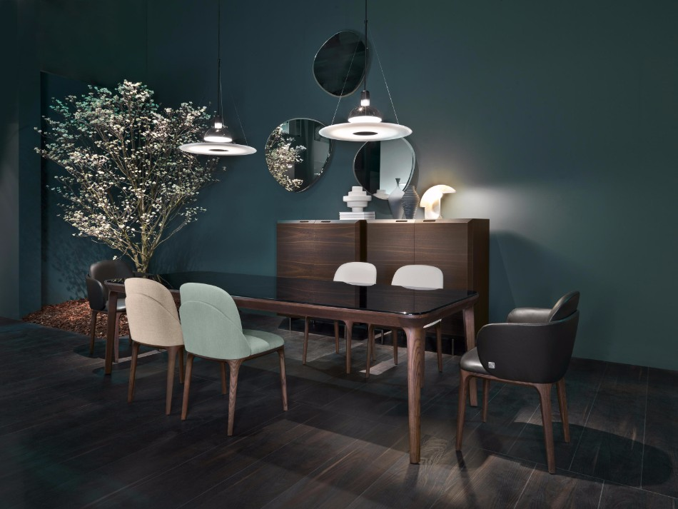 Get Inspired With These Luxury Dining Tables | www.bocadolobo.com #diningtable #moderndiningtable #diningroom #luxurybrands #luxury #thediningroom #roomdesign #minotti #busnelli #brabbu #fendi #fendicasa @moderndiningtables