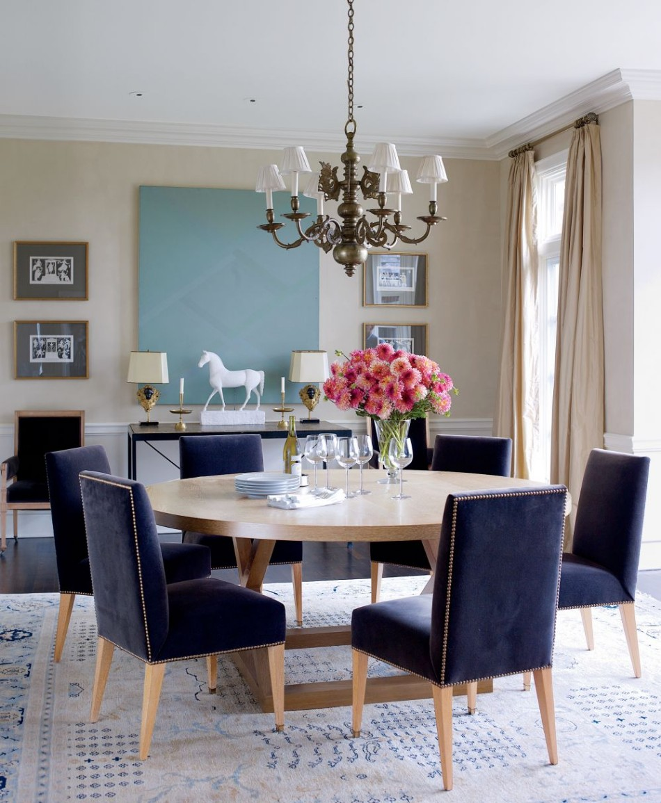 statement pieces 15 round dining tables
