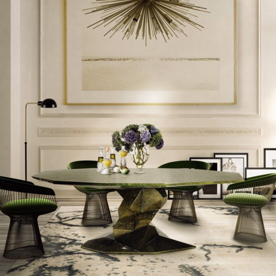 Statement Pieces 15 Round Dining Tables | www.bocadolobo.com #moderndiningtables #roundtables #diningroom #thediningroom #diningarea #statement @moderndiningtables statement pieces Statement Pieces: 15 Round Dining Tables bonsai 00