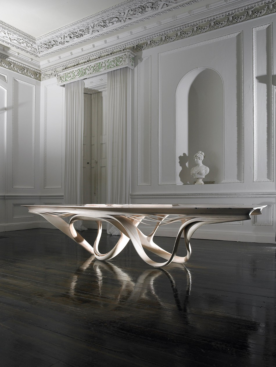 The Enignum Collection By Joe Walsh You Need To See | www.bocadolobo.com #diningroom #thediningroom #moderndiningtable #diningtable #diningarea #interiordesign @moderndiningtables Joe Walsh The Enignum Collection By Joe Walsh You Need To See joseph walsh Studio Enignum V Chair Table Desk Wood Working Furniture 2
