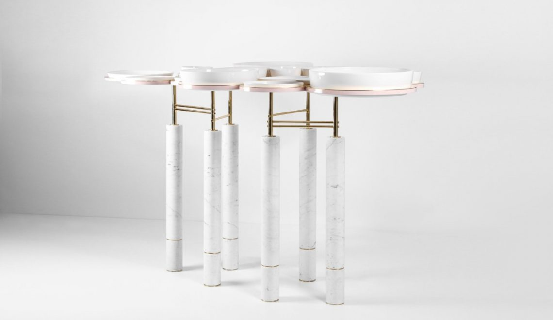 A Functional Modern Dining Table You Won't Believe It Exists