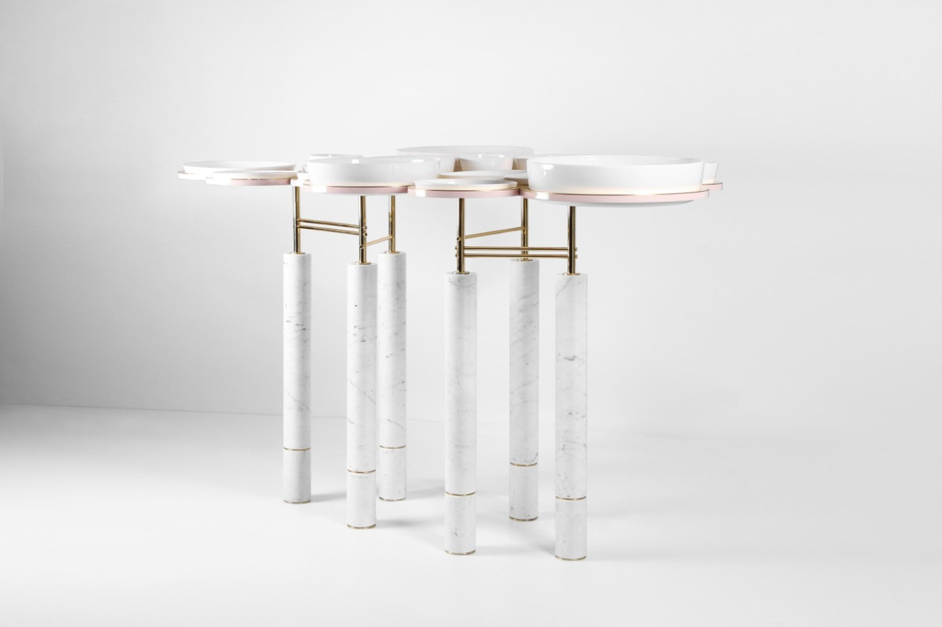 A functional modern dining table you won t believe it exists for Modern dining t