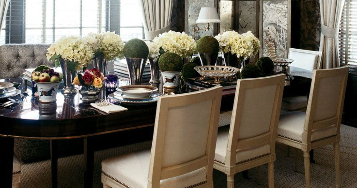 Astonishing Dining Room Designs by Top Interior Designer Stephen Sills
