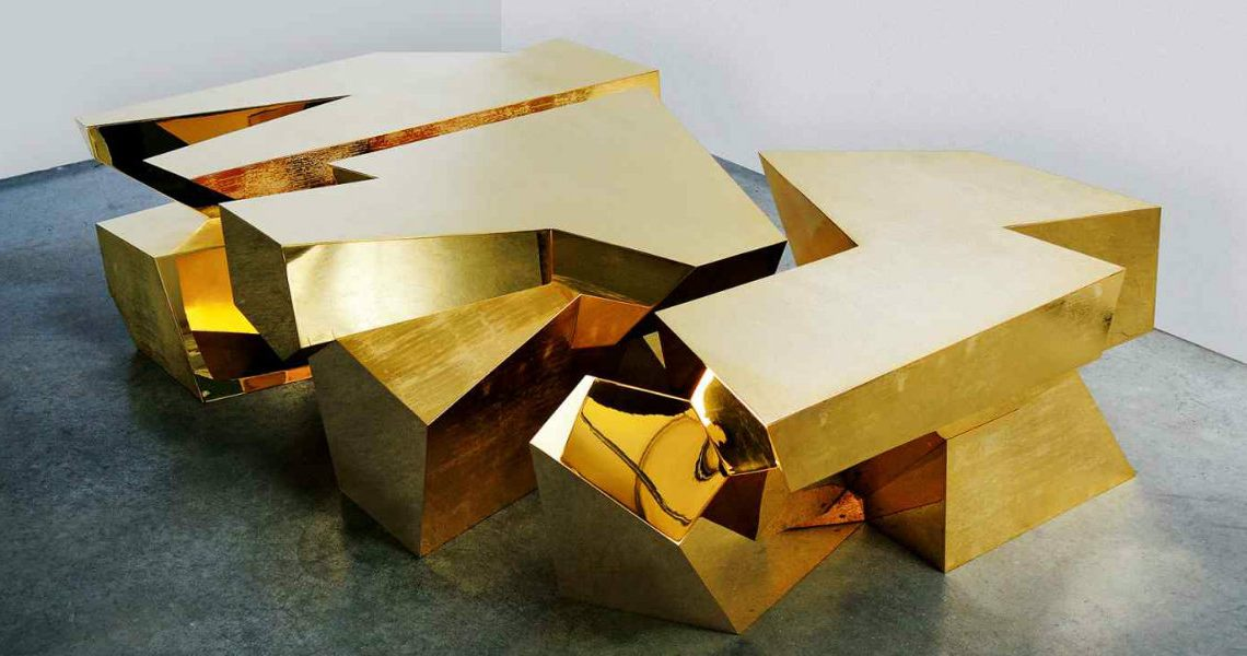 Amazing Cubist-Inspired Modern Dining Tables