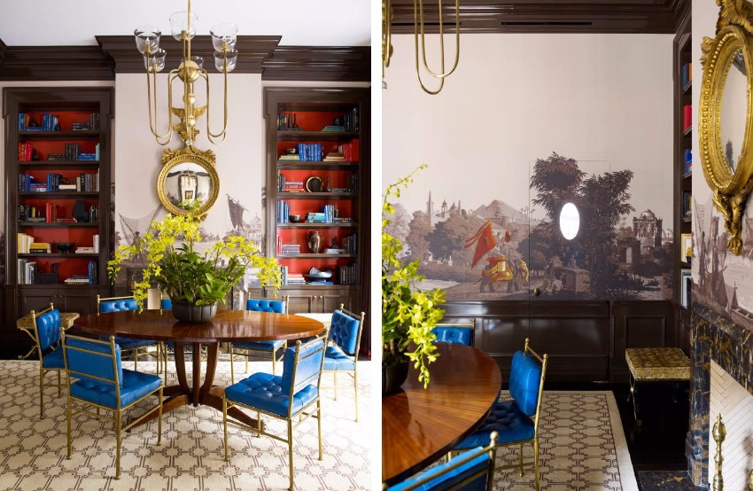 modern dining tables, Dining area, dining room, the dining room, dining design, dining area design, room design, Luxury brands, luxury, luxurious, Steven Gambrel steven gambrel 10 Brilliant Dining Areas By Steven Gambrel 10 Brilliant Dining Areas By Steven Gambrel 8