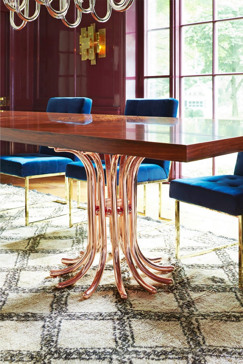 modern dining tables modern dining tables 20 High-End Modern Dining tables for Stylish Homes 11 20 High End Dining Tables for Stylish Homes