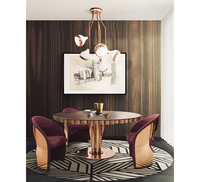 modern dining tables 20 High-End Modern Dining tables for Stylish Homes 14 20 High End Dining Tables for Stylish Homes