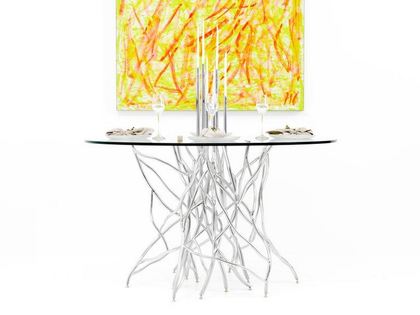 modern dining tables Top 25 Modern Dining Tables 19 Foundrywood ArtTable 2 l