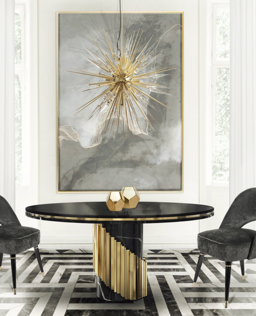 modern dining tables 20 High-End Modern Dining tables for Stylish Homes 20 litus