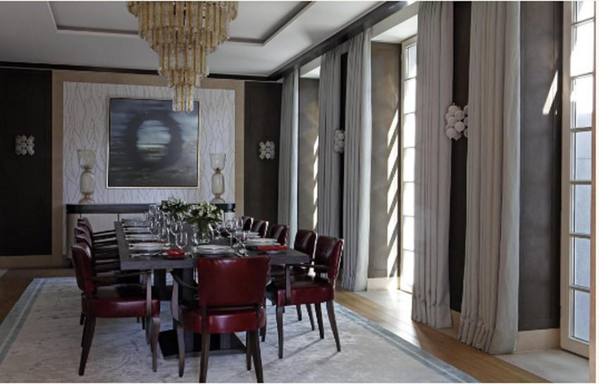 Martin Brudnizki martin brudnizki Stunning Dining Areas By Top Interior Designer Martin Brudnizki 4 Essen