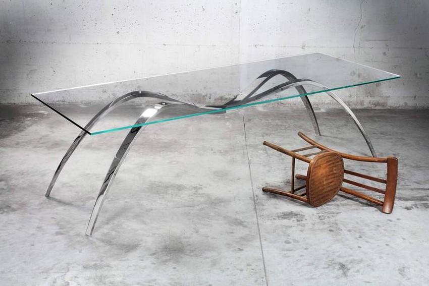 modern dining tables modern dining tables Top 25 Modern Dining Tables 4 spider classic barberini and gunnell 1 l