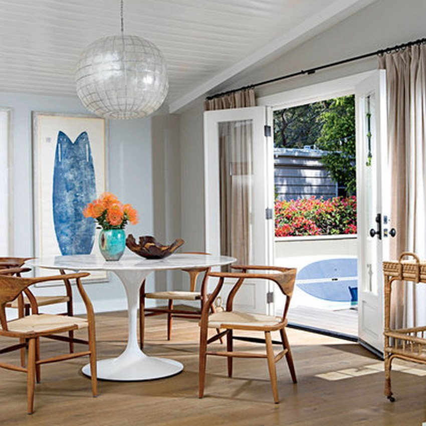 Beach Style Dining Room Designs Modern Dining Tables