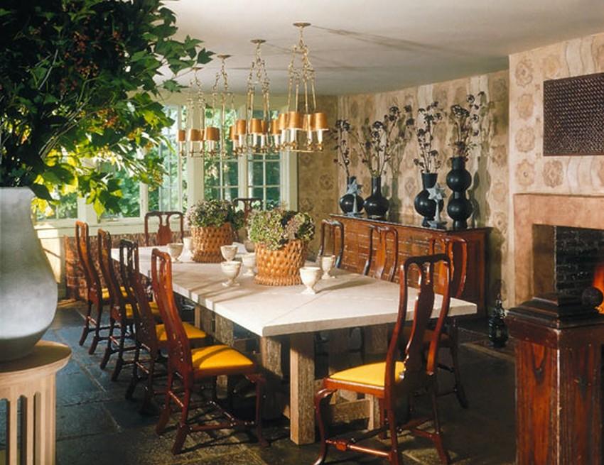 dining room designs Astonishing Dining Room Designs by Top Interior Designer Stephen Sills 6 Astonishing Dining Room designs by Top Interior Designer Stephen Sills westchester retreat 6 lg