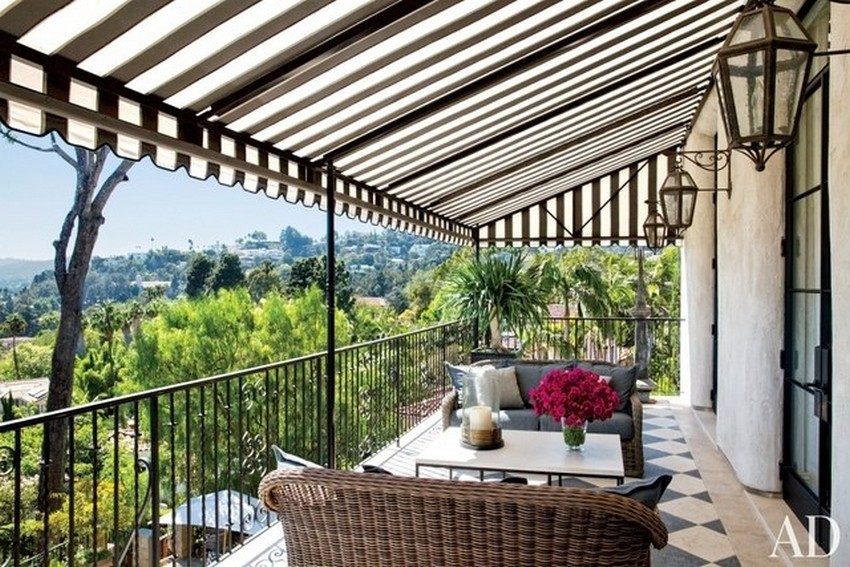 dining set design Dining Set Design 25 Amazing Outdoor Dining Set Design Ideas 7 Amazing outdoor dining set design ideas Ellen Pompeo by Martyn Lawrence Bullard