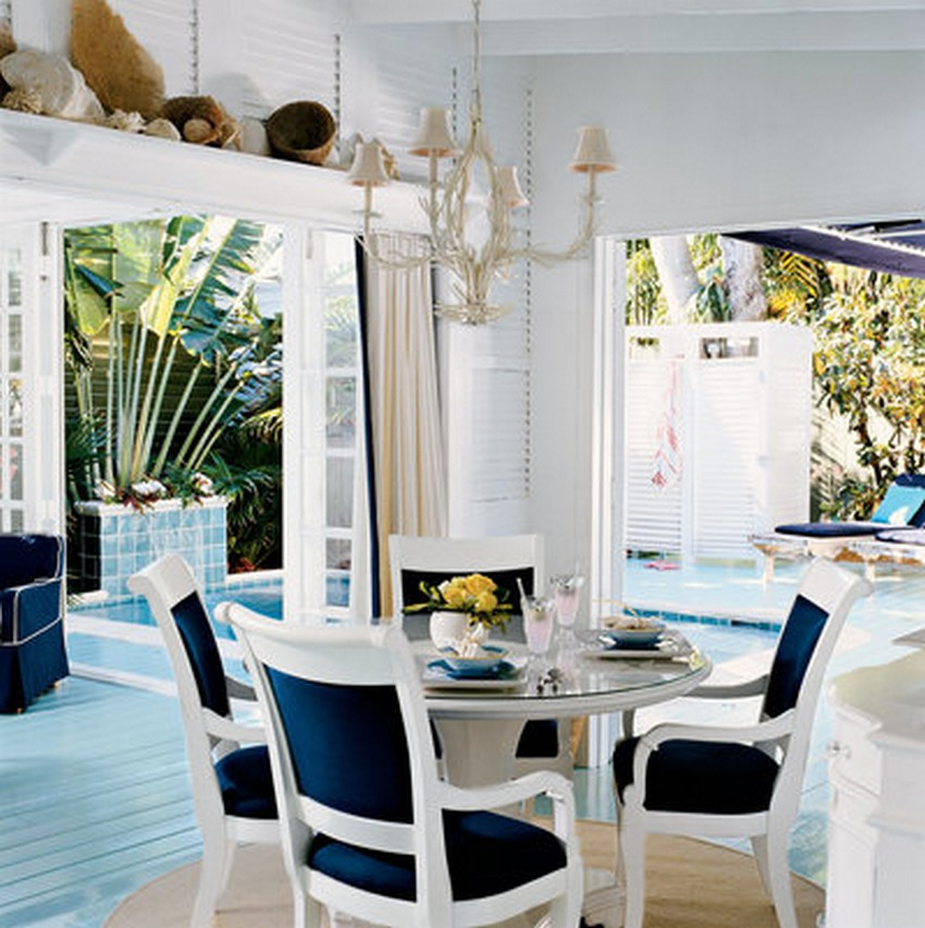 Beach style dining room designs for Beach dining room ideas