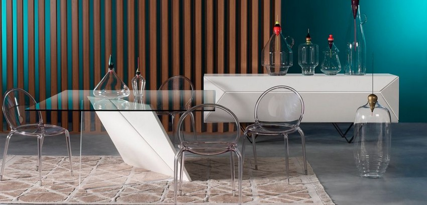modern dining tables Amazing Cubist-Inspired Modern Dining Tables 7 cubist dining table