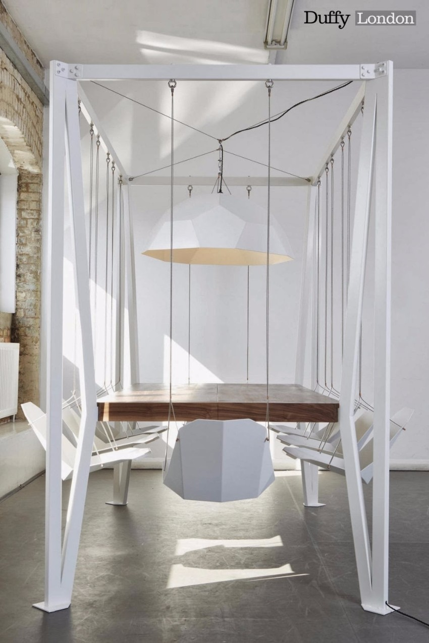 Duffy London, modern dining table, Dining area, dining space, dining room, the dining room, dining design, dining area design, Duffy London Discover the Swing Table by Duffy London Discover the Swing Table by Duffy London 11