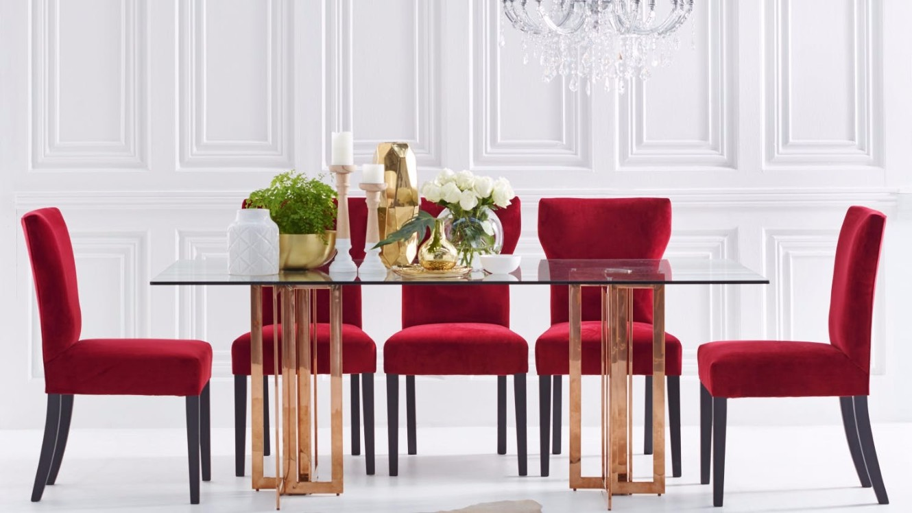 10 beautiful glass dining tables part ii for Beautiful glass dining tables