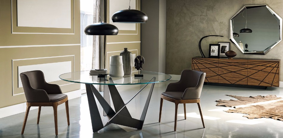 Get Inspired For Your Luxury Dining Room With Cattelan Italia | www.bocadolobo.com #moderndiningtables #diningtables #diningroom #thediningroom #diningarea #diningareadesign #roomdesign #exclusivedesign #luxury #luxuryinteriors #luxuryroom #luxurious #italianbrands #luxurybrands