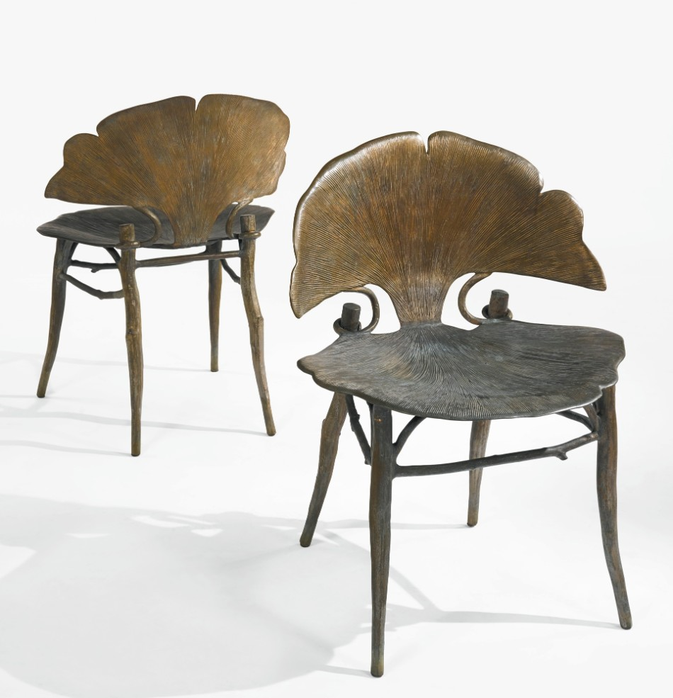 Ginkgo Brilliant Dining Chairs by Claude Lalanne | www.bocadolobo.com #diningchairs #moderndiningtables #chairs #interiordesign #roomdesign #productdesign #creatovedesign #artistic #ginkgo #diningroom #thediningroom #diningarea #diningareadesign @moderndiningtables claude lalanne Ginkgo Brilliant Dining Chairs by Claude Lalanne Ginkgo Brilliant Dining Chairs by Claude Lalanne 2 1