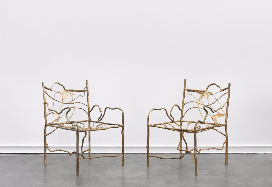 Ginkgo Brilliant Dining Chairs by Claude Lalanne | www.bocadolobo.com #diningchairs #moderndiningtables #chairs #interiordesign #roomdesign #productdesign #creatovedesign #artistic #ginkgo #diningroom #thediningroom #diningarea #diningareadesign @moderndiningtables claude lalanne Ginkgo Brilliant Dining Chairs by Claude Lalanne Ginkgo Brilliant Dining Chairs by Claude Lalanne 7