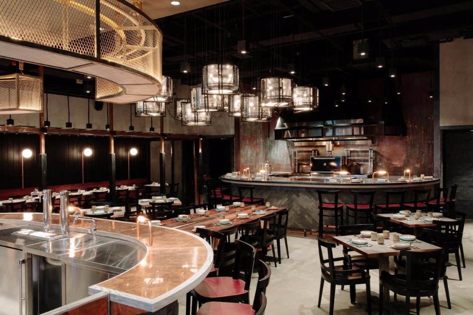 Luxury dining areas by joyce wang