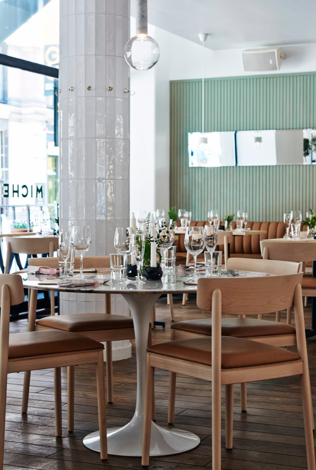 This luxury restaurant design is inspired by s kiosks