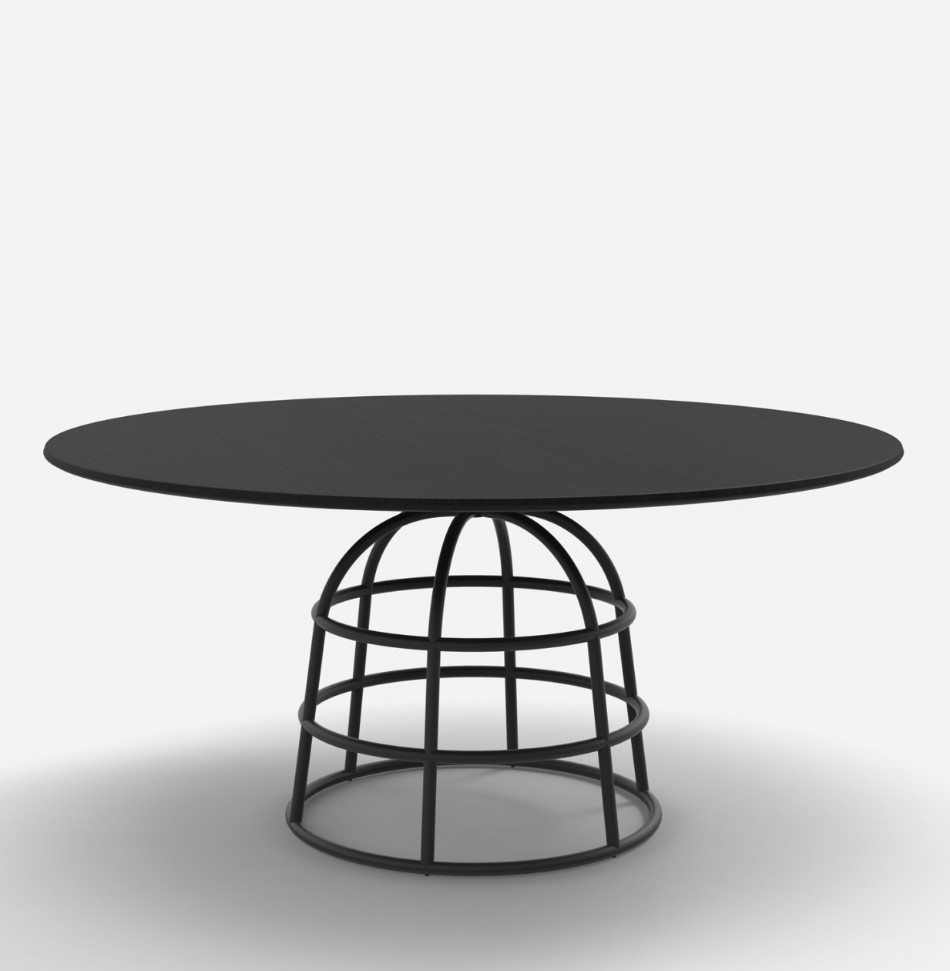 Gilles's Modern Dining Tables Rest On Wireframe-style Metal Bases | #diningtables #diningroom #thediningroom #diningarea #diningareadesign #roomdesign #diningdesign #exclusivedesign #interiordesign #product design #luxurybrands @moderndiningtables modern dining tables Gilles's Modern Dining Tables Rest On Wireframe-style Metal Bases Gilles   s Modern Dining Tables Rest On Wireframe style Metal Bases 3